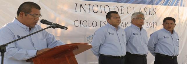 SE INAUGURA EL CICLO ESCOLAR 2018-2019  EN EL TecNM CAMPUS  SALINA CRUZ
