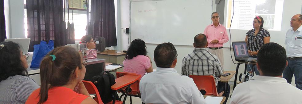 INICIA CURSO DE ACTUALIZACIÓN PROFESIONAL EN EL TecNM/SALINA CRUZ