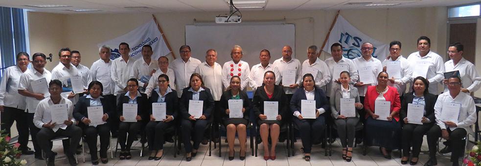 """SE CLAUSURA EL DIPLOMADO """"DIRECCIÓN Y GESTIÓN DE INSTITUCIONES EDUCATIVAS EN EL TecNM/SALINA CRUZ"""