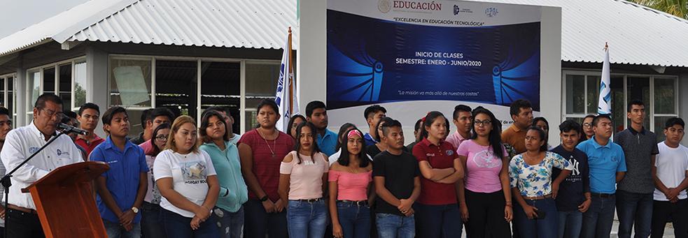INICIAN OFICIALMENTE LAS CLASES EN EL TecNM/ I. T. SALINA CRUZ